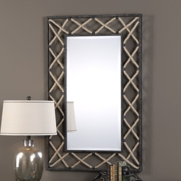 Beveled  Wall Mirror by 17 Stories
