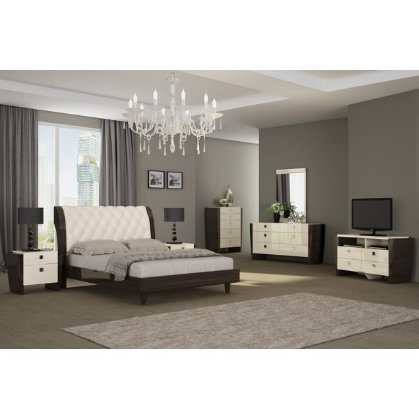 Hailee Platform Solid Wood 3 Piece Bedroom Set by Orren Ellis