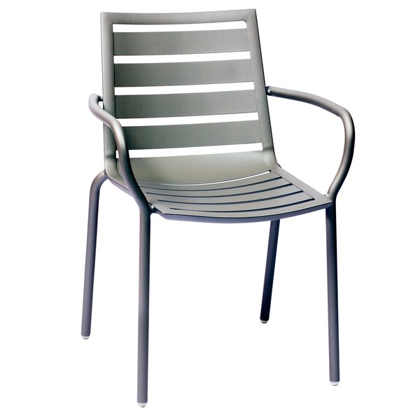 South Beach Stacking Dining Arm Chair By BFM Seating