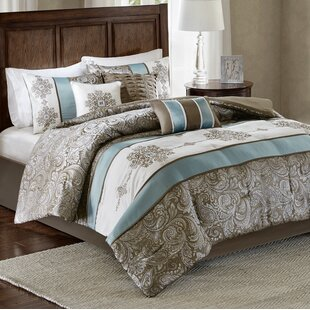 Oglethorpe Jacquard 7 Piece Reversible Comforter Set