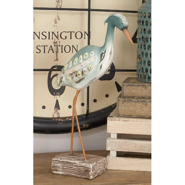 Polystone Sea Bird Figurine by Cole & Grey