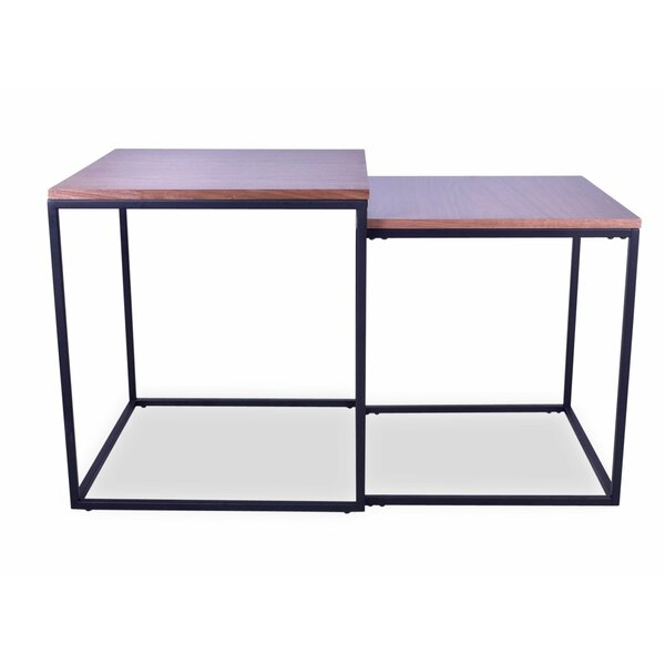 Abree 2 Piece Nesting Tables by Williston Forge