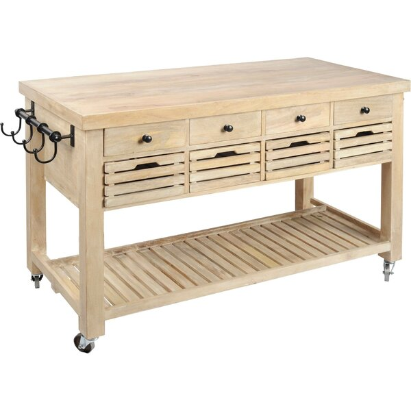Kolossi Kitchen Cart by Gracie Oaks