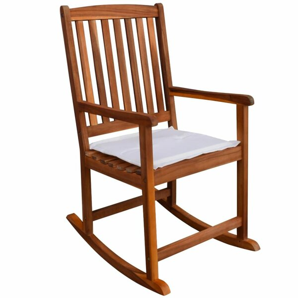 Angele Garden Rocking Chair with Cushions by August Grove