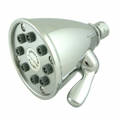 Hot Springs 8 Nozzles Power Jet Volume Control Shower Head by Elements of Design Elements of Design