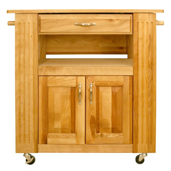 Kitchen Island with Wood Top by Catskill Craftsmen, Inc.