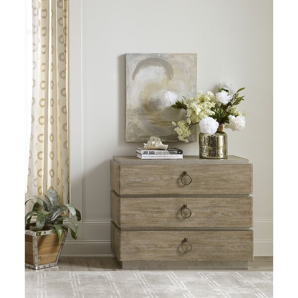 Dilbeck 3 Drawer Chest by Brayden Studio