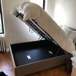 brayden studio morphis upholstered platform bed reviews wayfair. Black Bedroom Furniture Sets. Home Design Ideas