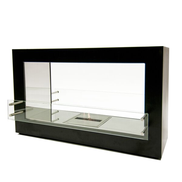Argento Ethanol Fireplace by BioFlame