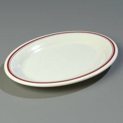 Durus® Melamine Oval Platter (Set of 12) by Carlisle Food Service Products