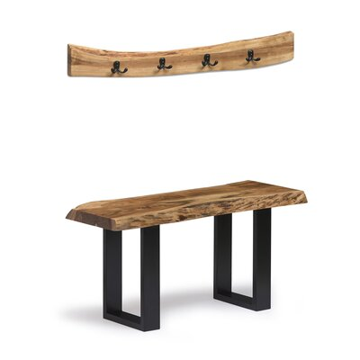 Brown Espresso Wood Kitchen Amp Dining Benches You Ll Love