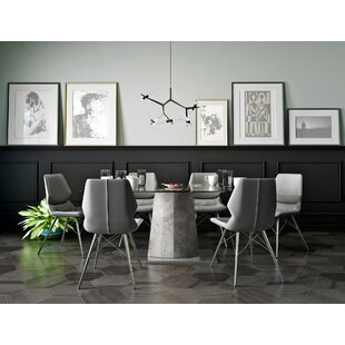 Contemporary Kitchen Tables And Chairs Modern contemporary dining room sets allmodern anastasia contemporary 7 piece dining set workwithnaturefo