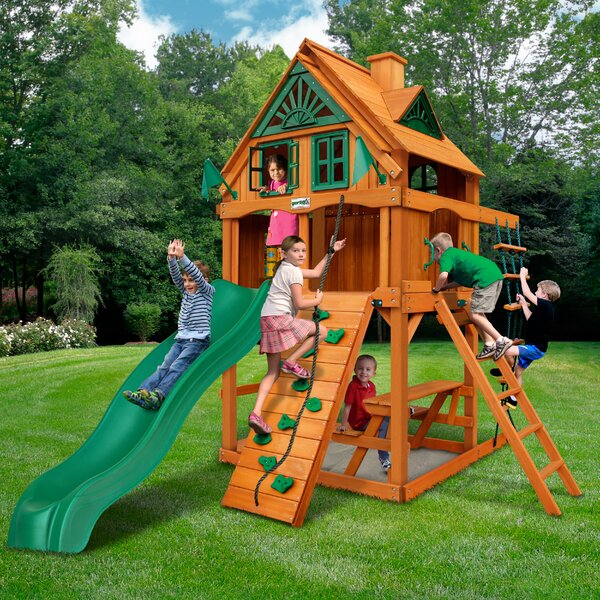 Chateau Tower Treehouse Playset by Gorilla Playsets