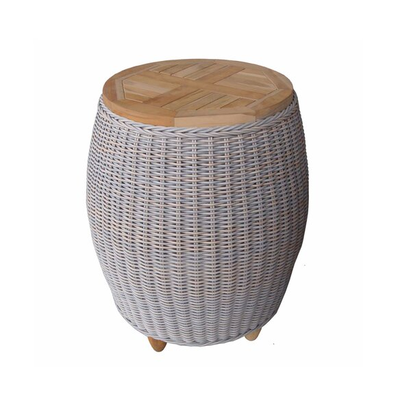 Paradise Solid Wood Side Table by Padmas Plantation