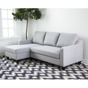 2 Piece Sectional Sleeper Sofa Wayfair