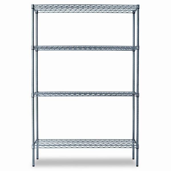 72 H x 48 W Industrial Shelf Shelves Shelving Starter Kit by Alera®