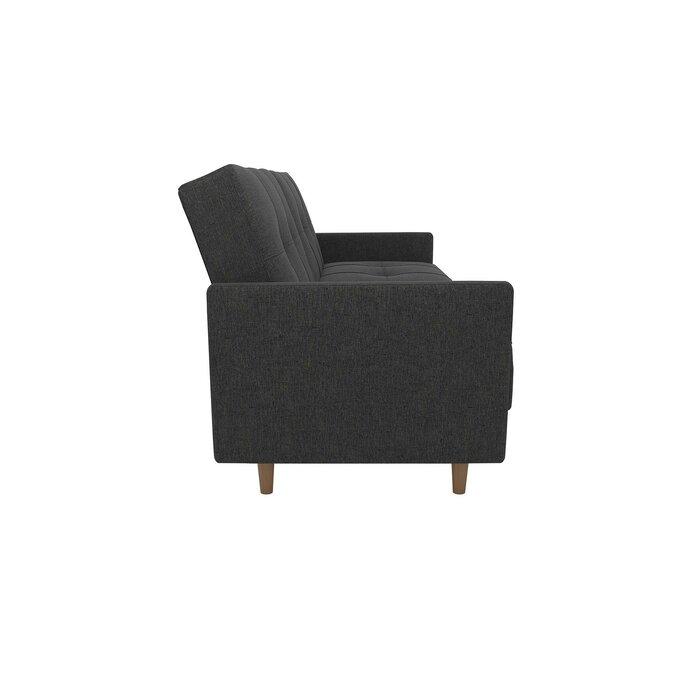 Tremendous Geraldton Linen Convertible Sofa Machost Co Dining Chair Design Ideas Machostcouk