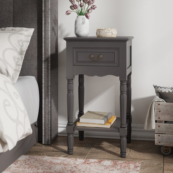 Lacordaire 1 Drawer Nightstand by August Grove