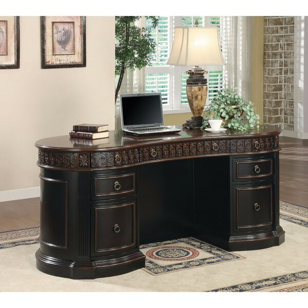 Krupp Executive Desk by Bayou Breeze
