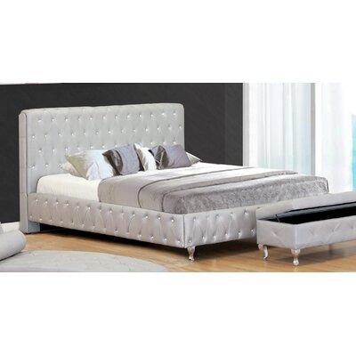 Upholstered Platform Bed BestMasterFurniture