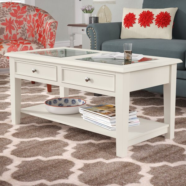 Godbey Coffee Table By Three Posts