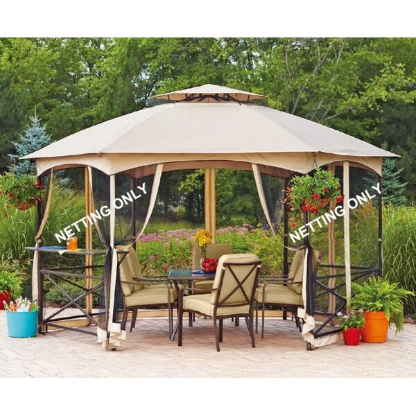 Replacement Mosquito Netting for Vineyard Gazebo by Sunjoy