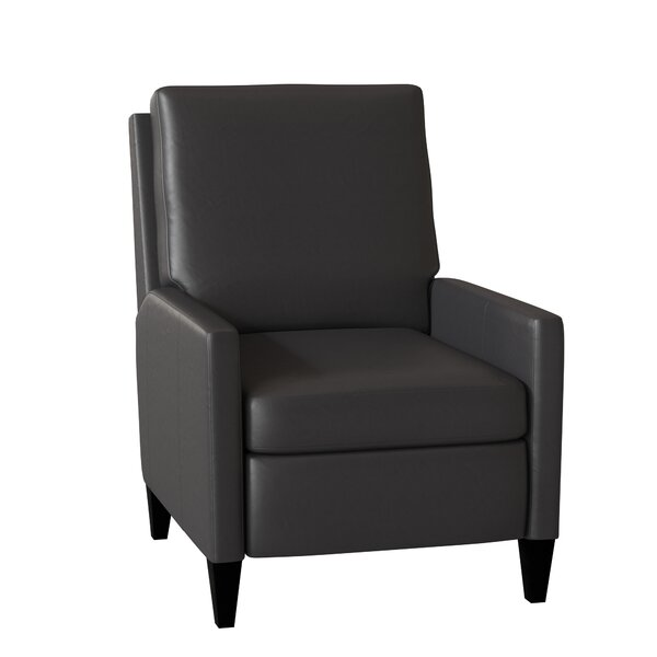 Castiel Leather Manual Push Back Recliner By Bradington-Young