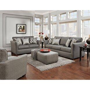 Aurthur Nationwide 4 Piece Standard Living Room Set by Red Barrel Studio®
