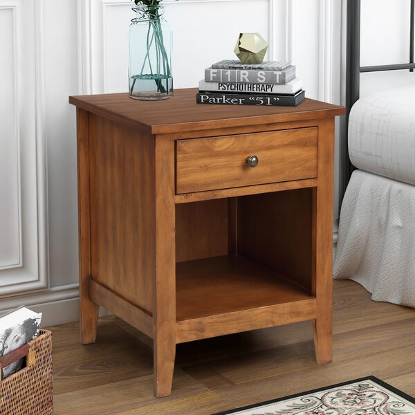 Chesney 1 Drawer Nightstand by Foundry Select
