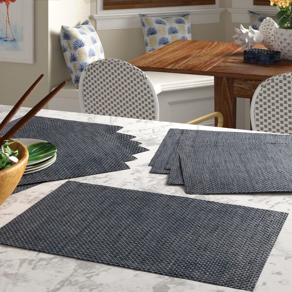 Woven Placemat (Set of 12) by Bay Isle Home