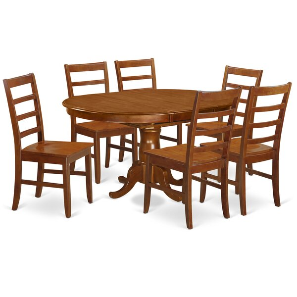 Portland 7 Piece Extendable Dining Set By East West Furniture Purchase