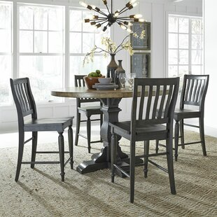 Nazareth 5 Piece Counter Height Dining Set By Charlton Home