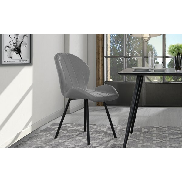 Gibby Upholstered Dining Chair (Set of 2) by Wrought Studio