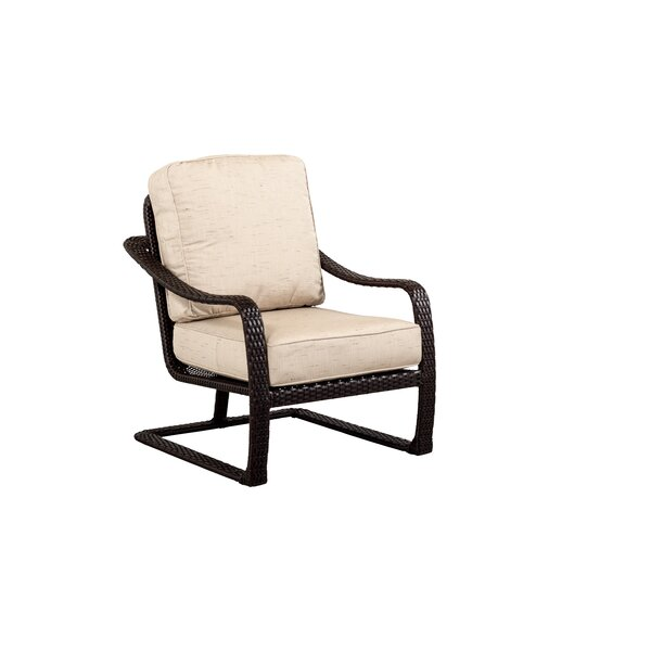 Palms All Weather Woven Club Chair with Cushions by Outdoor Masterpiece