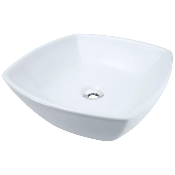 Vitreous China Specialty Vessel Bathroom Sink by MR Direct
