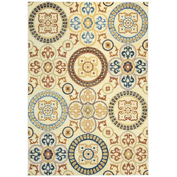 Anthony Ivory Area Rug by Bungalow Rose