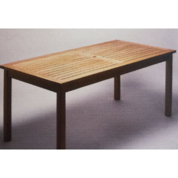 Teakwood Dining Table by Royal Teak by Lanza Products