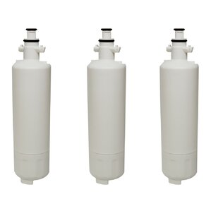Refrigerator/Icemaker Water Purifier Filter (Set of 3) by Crucial