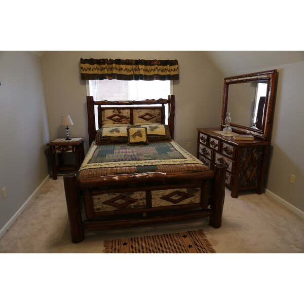 Minehead Standard Solid Wood Configurable Bedroom Set by Loon Peak