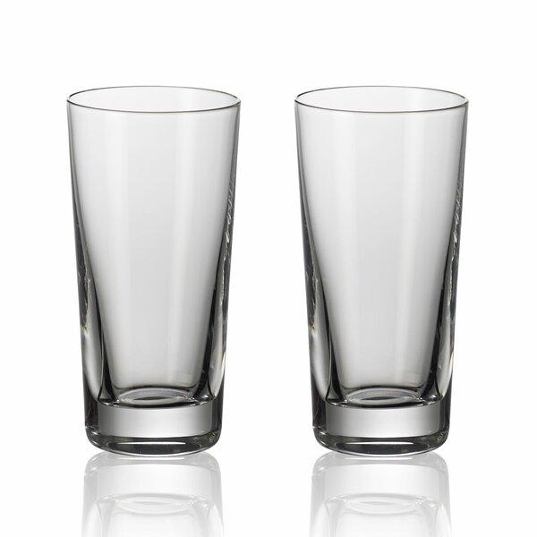 Purismo Bar 2 oz. Crystal Shot Glass (Set of 2) by Villeroy & Boch