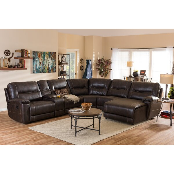 Carnegie Right Hand Facing Reclining Sectional by Red Barrel Studio