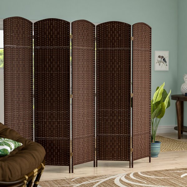 Anthurium 5 Panel Room Divider by Bay Isle Home