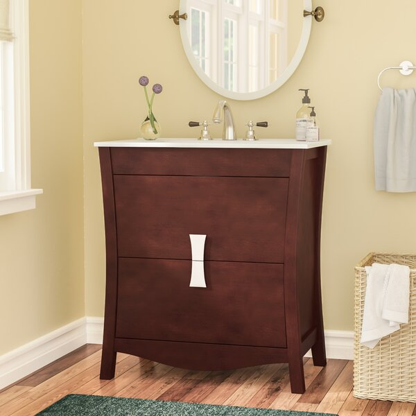 Cataldo Exquisite Floor Mount 30 Single Bathroom Vanity Set by Royal Purple Bath Kitchen