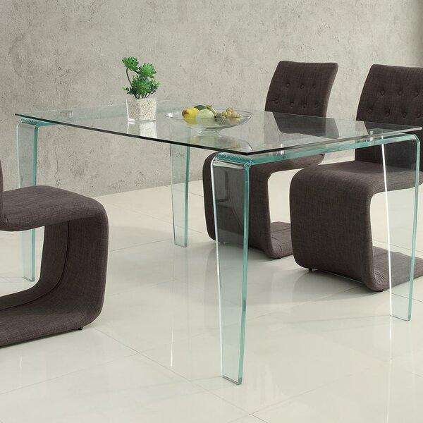 Lorna Dining Table by Orren Ellis Orren Ellis