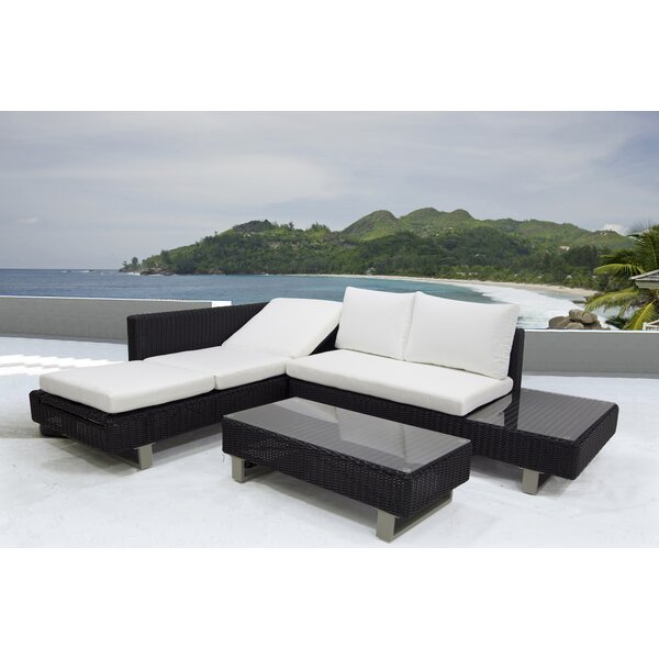 Puccio 3 Piece Sectional Set with Cushions by Orren Ellis