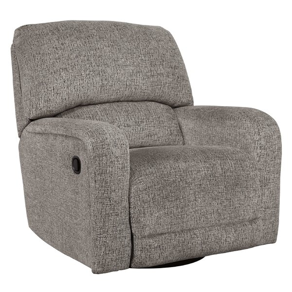 Rearick Manual Swivel Glider Recliner Red Barrel Studio W001927988