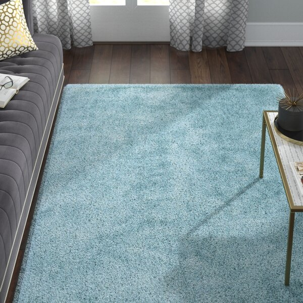 Selman Light Blue Area Rug by Willa Arlo Interiors