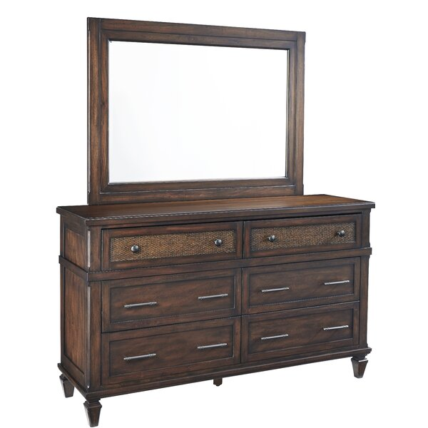 Smotherman 6 Drawer Double Dresser by Bay Isle Home
