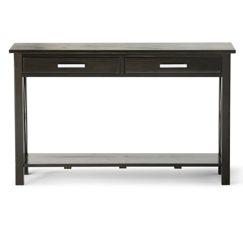 simpli home kitchener console table amp reviews wayfair ca