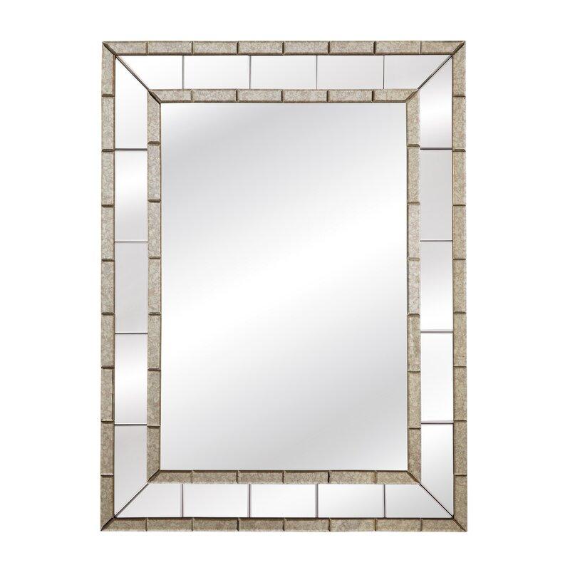Beveled Panel Wall Mirror & Reviews | Birch Lane